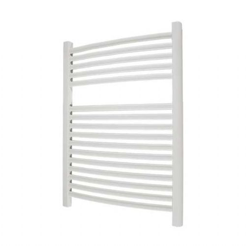 Abacus Elegance Radius Curved Towel Rail - 750mm x 480mm - White
